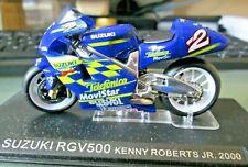 1//24 MOTO GP SERIE 1 N°8 SUZUKI RGV 500 2000 KENNY ROBERTS JR #2