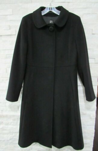 Cinzia Rocca Black Wool Cashmere Princess Seams L… - image 1