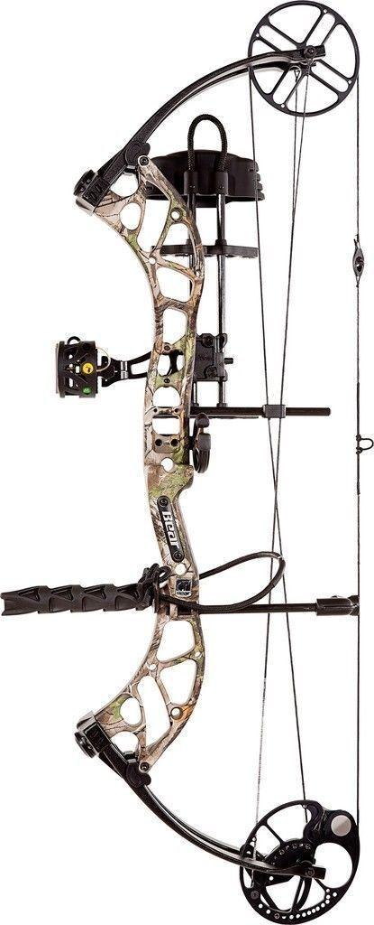 Nuevo Bear Archery salvaje rth 70  RH Paquete de Arco Camo Realtree Xtra