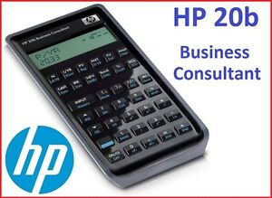 NEW-CALCULATOR-HP-20b-Business-Consultant-Free-shipping-to-Europe