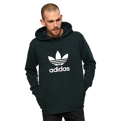 Adidas Retro Adi Trefoil Pull à Capuche Sweat Capuche Vert Foncé | eBay