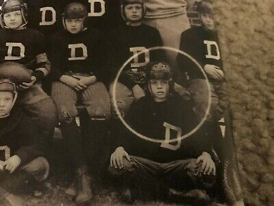 JFK John F Kennedy in Dexter School football uniform 1926 New 8x10 Photo