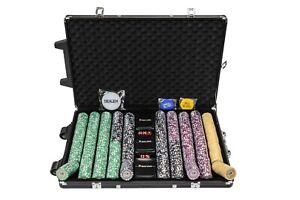 Numéroté Chips Pièces Numéro 1000 Poker Haut En Ensemble Tournoi 6qIBwW5T