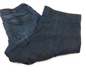 Lucky-Brand-Trouser-Capri-Crop-Low-Rise-100-Cotton-Pants-Women-039-s-6-28