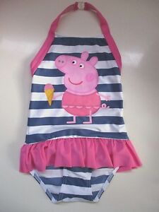 915805e767 Girls swimwear swimming costume peppa pig 18-24mth 2-3yr 3-4yr | eBay