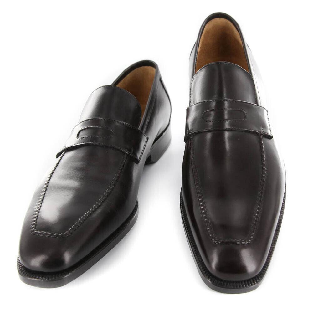 Analytique Neuf Sutor Mantellassi Marron Foncé Chaussures - Mocassins - 6.5/5.5 - Fixation Des Prix En Fonction De La Qualité Des Produits