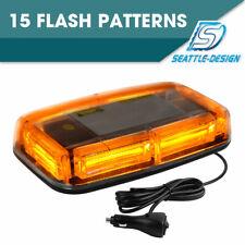 Aurelio Tech LEPAZA66044 TCBunny 240 LED Light Bar Roof Top Emergency Hazard Warning Flash Strobe Yellow Amber
