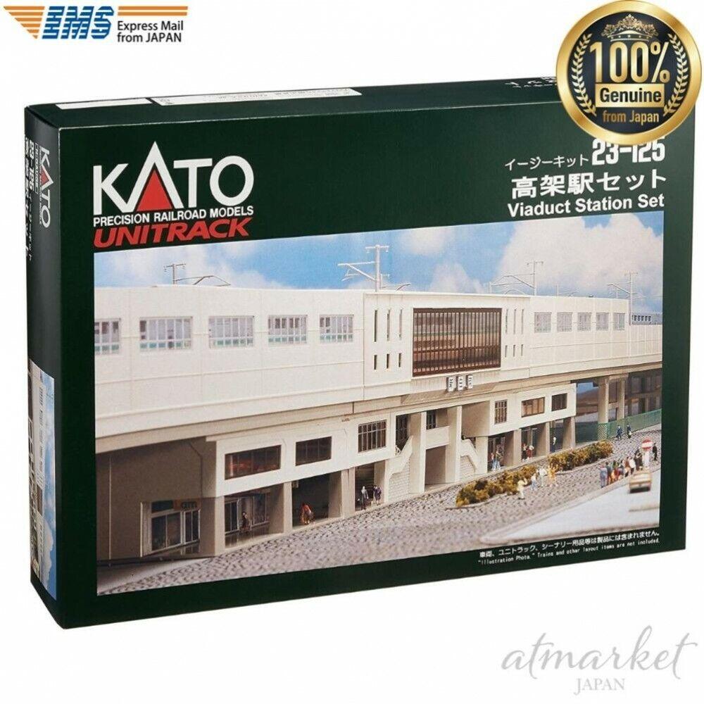 Kato Erhöhte Station Set 23-125 Nenngröße n Eisenbahn Modell Zubehör aus Japan    Vogue