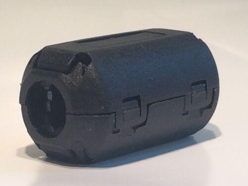 Cantidad 4 Clip en ferrita abrazadera Cable supresor de ruido de tamaño mediano de 9 mm blb67