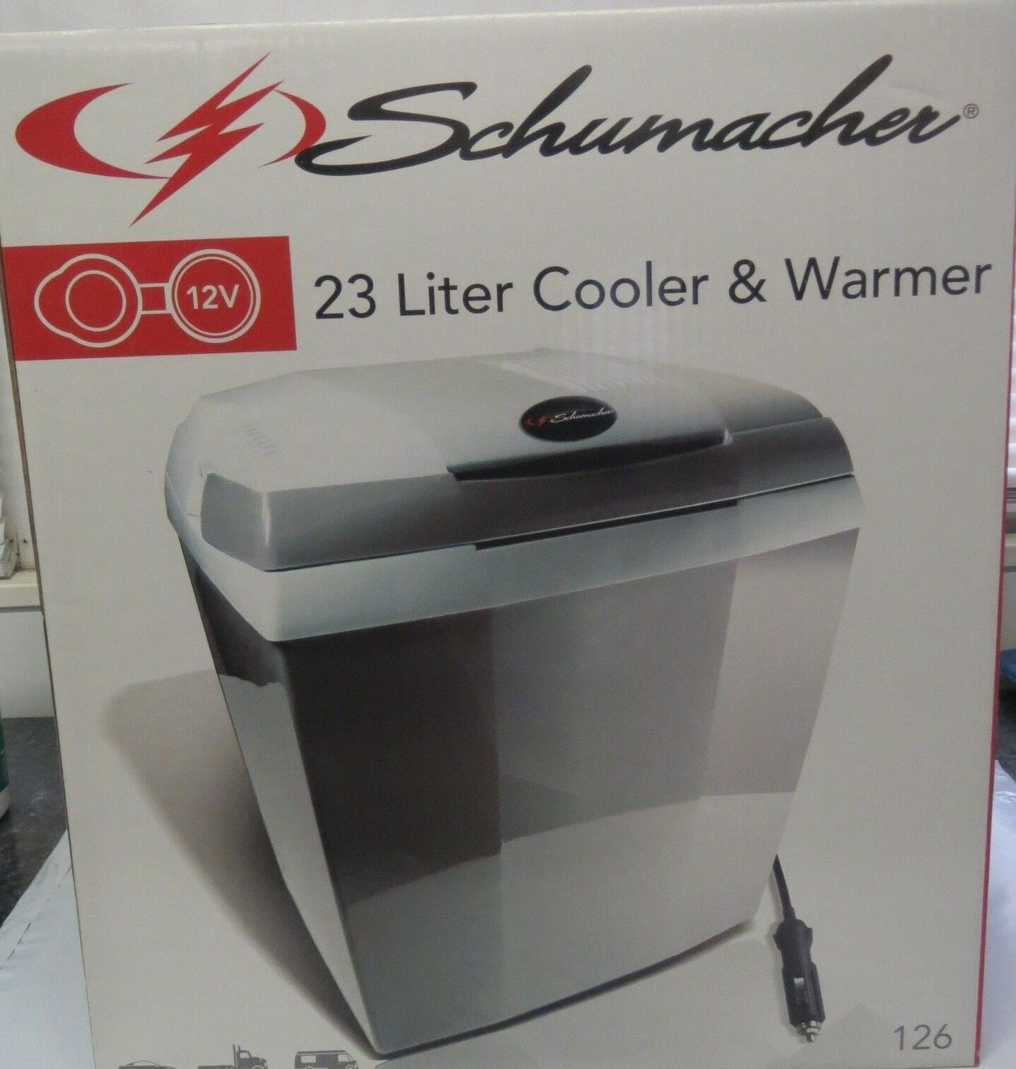 Schumacher 126 12V Cooler and Warmer - 23 Liter Capacity....NEW OTHER