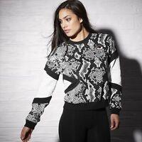 Melody Ehsani X Reebok Limited Edition Reptile Sweatshirt Size S