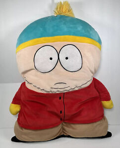 """RARE South Park 24"""" Eric Cartman Pillow Plush Toy Doll Figure By Funhouse No Tag"""