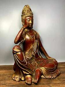 Comfortable Nice but Old Tibet Buddhism Copper Bronze Free