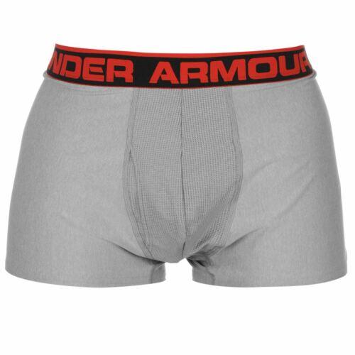 Under Armour Mens 3 Inch Boxer Jock Underwear Lightweight Stretch Moisture