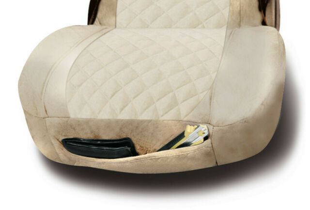 Lampa Luana Truck Seat covering made from Imitation Leather Black//Red