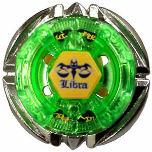 Hot-Fight-Flame-LIBRA-T125ES-Metal-Fusion-4D-Beyblade-BB-48-Children-Gift-Green