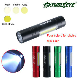 Zoomable Flahlight Torch 300LM XPE Super Bright Flashlight Waterproof Lantern AO