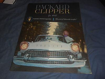 1957 Packard Clipper Packardbaker Full Line Original catalog Brochure Prospekt