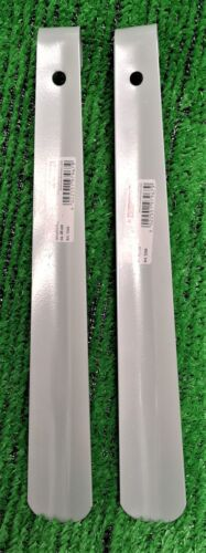 2x Bürstenmann stabiler Schuhlöffel Metall neutral grau ca.30 cm!! 5,75€//Stück