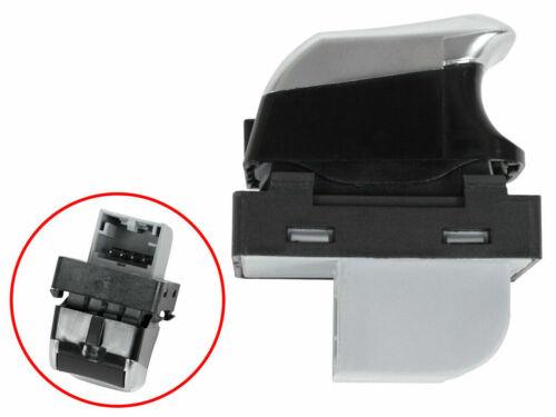 Fensterheber Schalter Knopf Alu Chrom 8K0959855 für Audi A4 B8 8K A5 8T Q5 8R