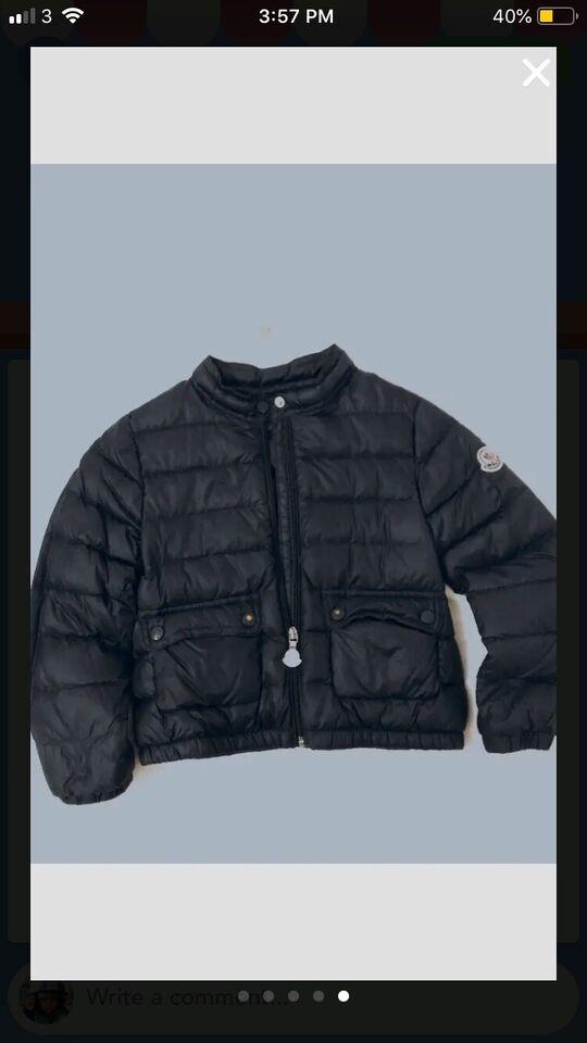 Jakke, Dun jakke, Moncler