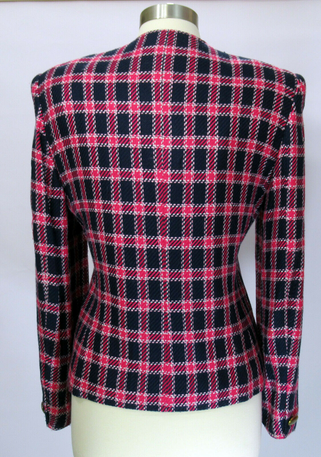 Vintage Evan Picone 1980s or 1990s blazer jacket … - image 3