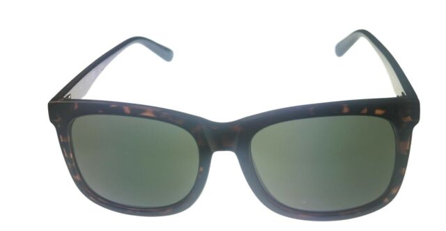 bf570fc587 Kenneth Cole Reaction Mens Soft Square Shiny Tortoise Sunglass Kc1324 52n  for sale online