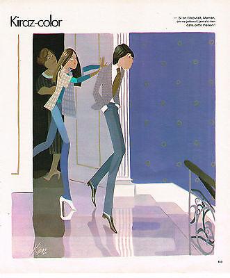 """Collectibles Publicite Advertising 064 1978 Kiraz Color """" On Ne Jette Rien"""" 2019 Official"""