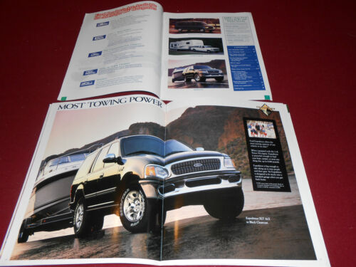 TRAILER TOWING GUIDE BROCHURE 2 for 1 1997 FORD EXPEDITION 28 p SALES CATALOG