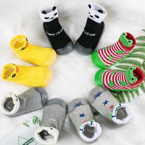 Infant-Newborn-Baby-Boys-Girls-Cartoon-Winter-Warm-Boots-Prewalker-Warm-Shoes