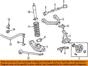 toyota oem 95 02 tacoma front steering knuckle spindle 4321235140 ebay rh ebay com 1996 toyota tacoma front suspension diagram toyota tacoma front suspension diagram