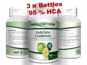 3-x-BOTTLES-180-Capsules-3000mg-Daily-GARCINIA-CAMBOGIA-HCA-95-Weight-Loss-Diet