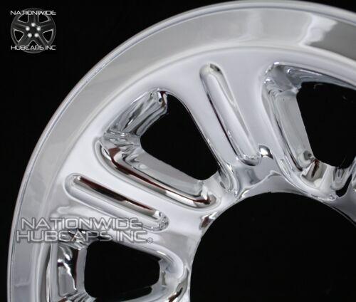 """1 2000-2011 Ranger 15/"""" Chrome Wheel Skins Hub Caps Full Covers 7 Spoke Steel Rim"""