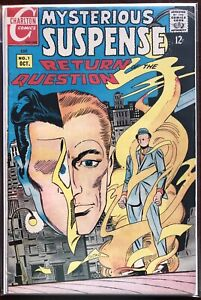 Mysterious-Suspense-1-1968-Charlton-The-Question-Silver-Age-Steve-Ditko