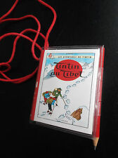 RARISSIME Bloc Notes Livret Tintin au tibet  Graffiting Lombard 1979