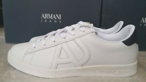 basse taille Sneakers 42eu Homme Jeans Armani 8uk qaZFq