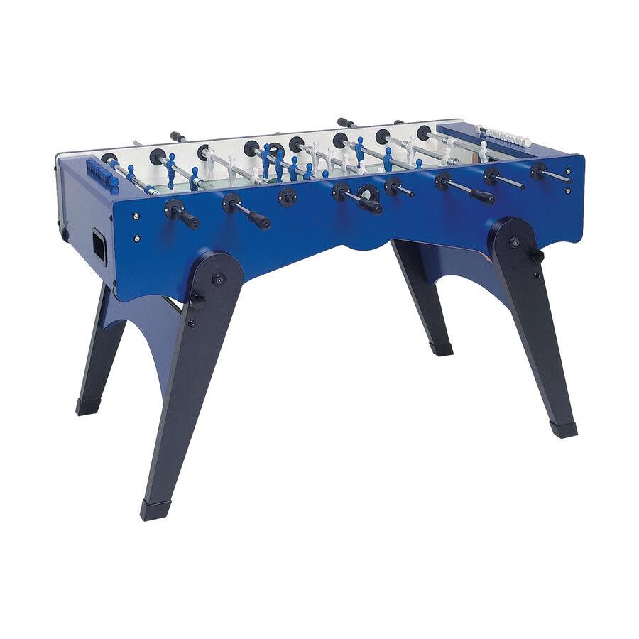 Calcio Balilla Balilla Balilla Foldy blu con aste uscenti gambe pieghevoli GARLANDO | Nuovo design diverso  | Ogni articolo descritto è disponibile  | marchio  | Qualità Stabile  5d5a74