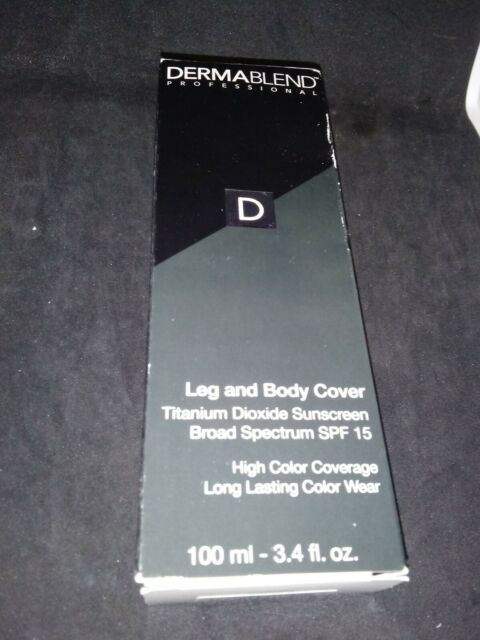 Dermablend Leg and Body DEEP NATURAL FORMERLY DARK 3.4 Z