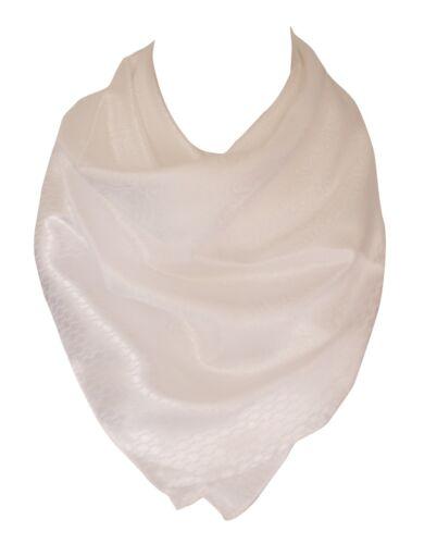 Selbst Geprägt Seide Gefühl Paisley Muster mit Grenzen Kopftuch Hals Schal