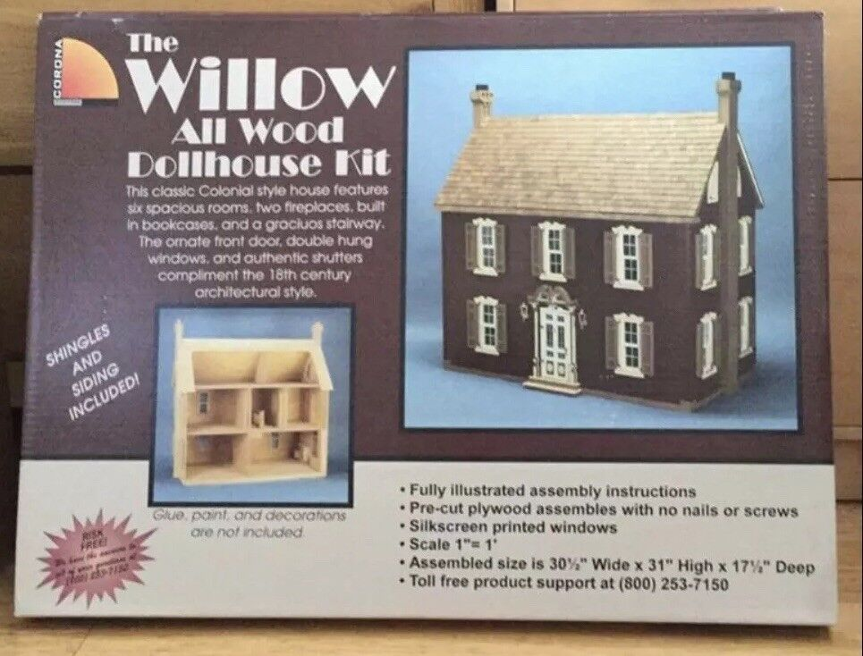 CGoldna The Willow Dolls House Kit NEW
