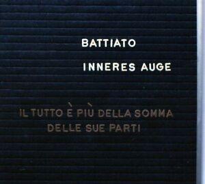 Franco-Battiato-Inneres-Auge-CD-Nuovo-IL-tutto-e-Piu-della-Somma-delle-Sue-Parti