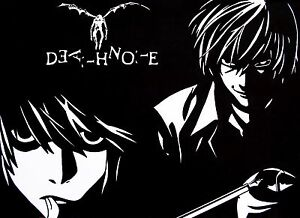 Image Is Loading DEATH NOTE POSTER 2 Sizes Available 02 ANIME