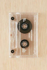 Kanye West - Yeezus Cassette New Sealed Clear Prison Tape Yeezy Limited Def Jam