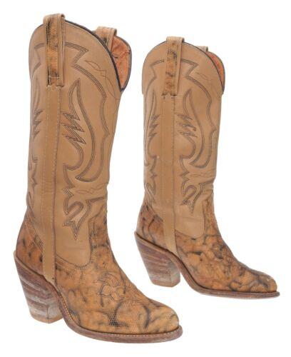 Vintage Miss CAPEZIO Cowboy Boots 6 M Womens Faux