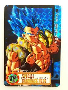 Dragon Ball Prism Fan Custom Card Gogeta Blue SSB N° 27 Carddass