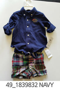 Polo-Ralph-Lauren-Baby-Toddler-Clothing-2-pc-Set-3-6-9-Months-New-w-Tag-49
