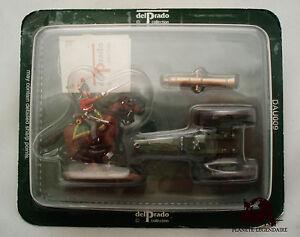 Figurine Del Prado Bataille Austerlitz Cavalier Canon Attelage Empire Figuren