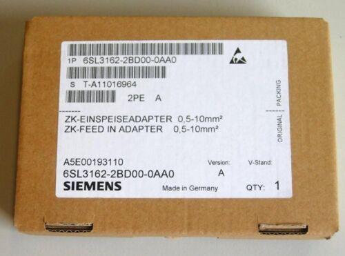 a inutilizzato OVP Siemens sinamics 6sl3162-2bd00-0aa0 CDC Einspeise Adattatore versione