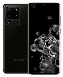 Samsung Galaxy S20 Ultra 5G SM-G988U - 128GB - Cosmic Black (Unlocked) (Single SIM)