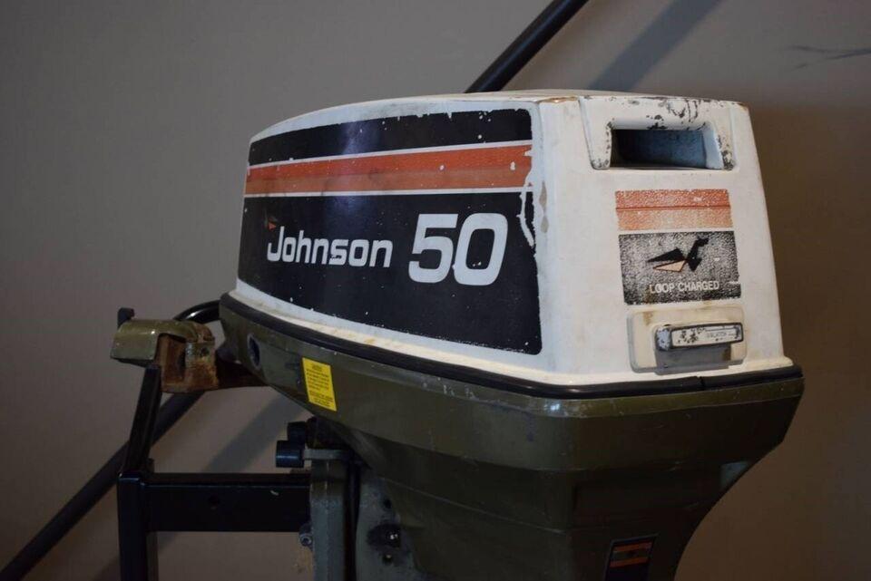 påhængsmotor Johnson, hk 50, benzin